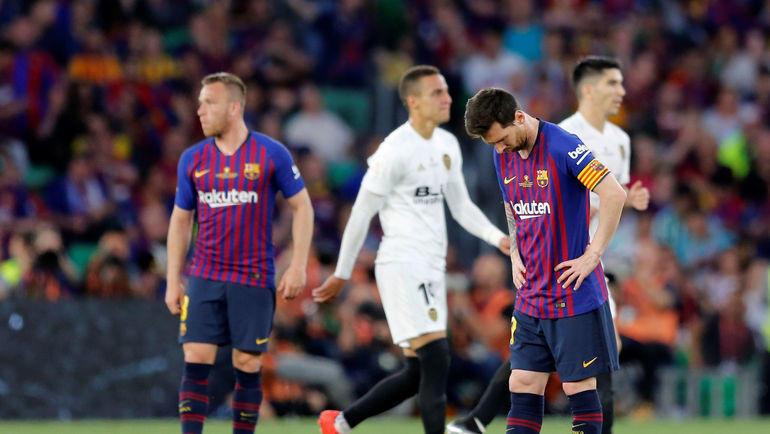 Футбол чемпионат испании валенсия барселона забитые голы