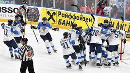 25 мая. Братислава. Россия - Финляндия - 0:1. Игроки финнской сборной празднуют выход в финал. И это еще не главная сенсация турнира.