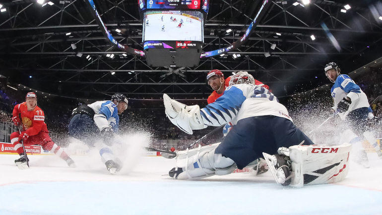 Чемпионат мира в Словакии проходит на большой площадке. Фото REUTERS