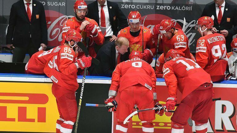 За бронзу ЧМ-2019 играют сборные России и Чехии. Фото AFP