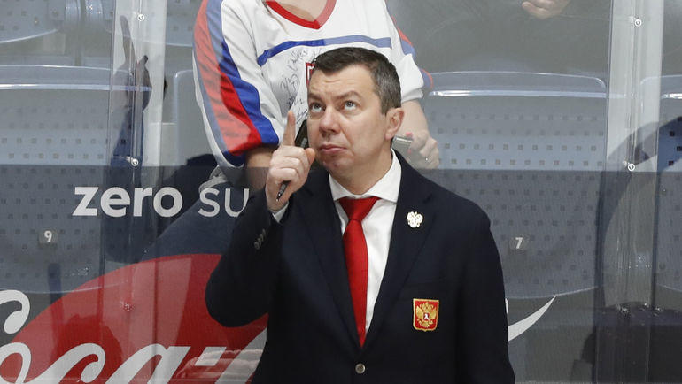 26 мая. Братислава. Россия – Чехия – 3:2 Б. Илья Воробьев. Фото Reuters