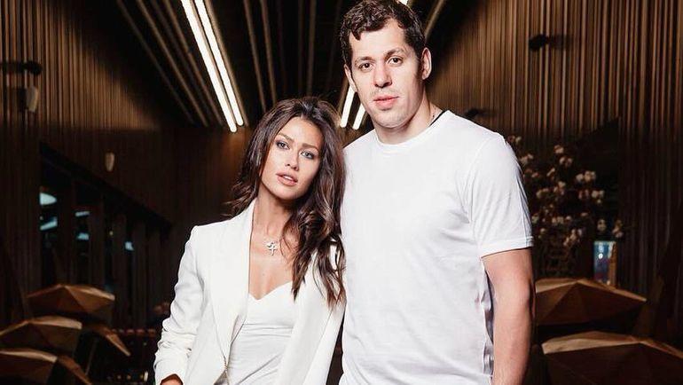 Анна Кастерова и Евгений Малкин. Фото instagram.com