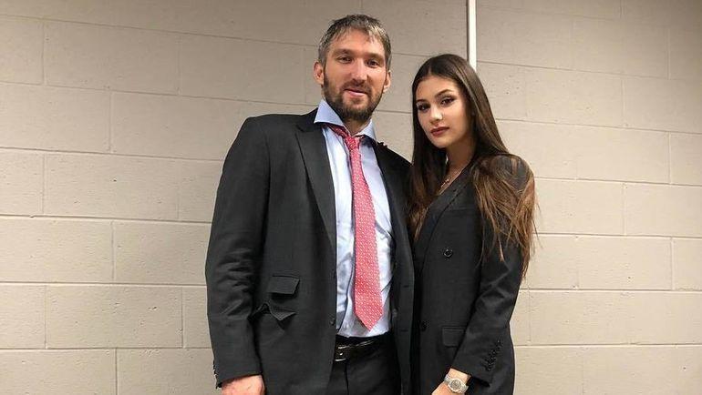 Александр и Анастасия Овечкины. Фото instagram.com