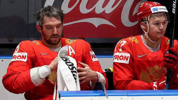 Александр Овечкин (слева) и Кирилл Капризов. Фото ФХР
