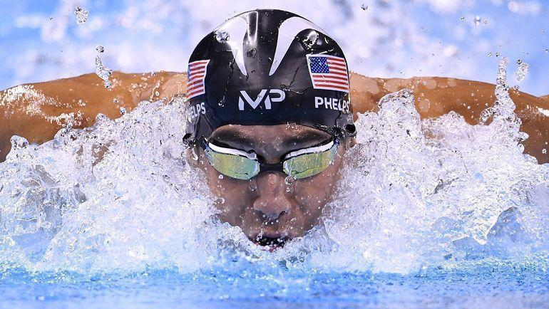 Майкл Фелпс. Фото AFP