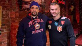 Василий Вакуленко (слева) и Игорь Акинфеев.