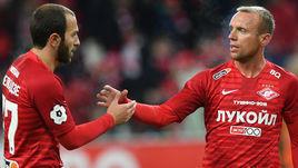 Георгий Мелкадзе (слева) и Денис Глушаков.