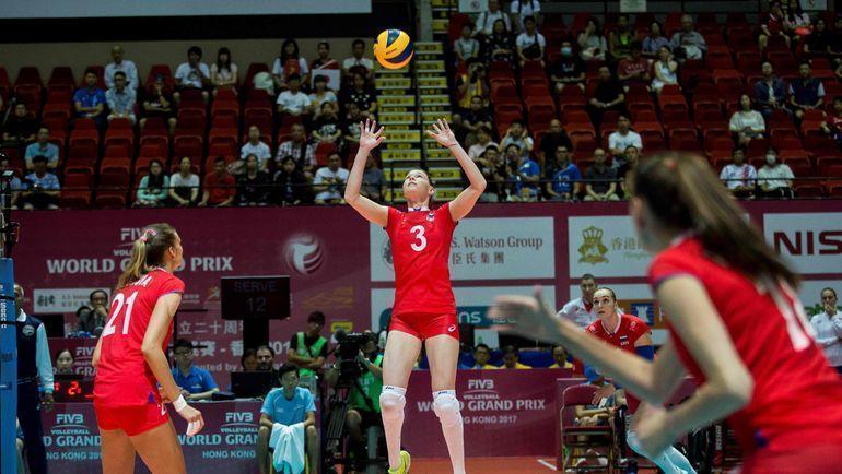 Женская сборная России по волейболу требует обновления состава. Фото AFP