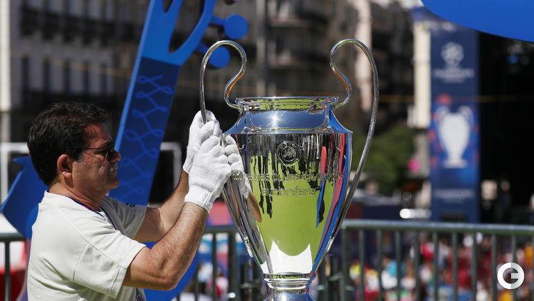 30 мая. Мадрид перед финальным матчем Лиги чемпионов.