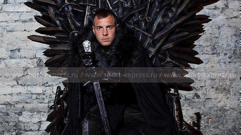 """Король Севера Артем Дзюба. Фото Дарья Исаева, """"СЭ"""""""