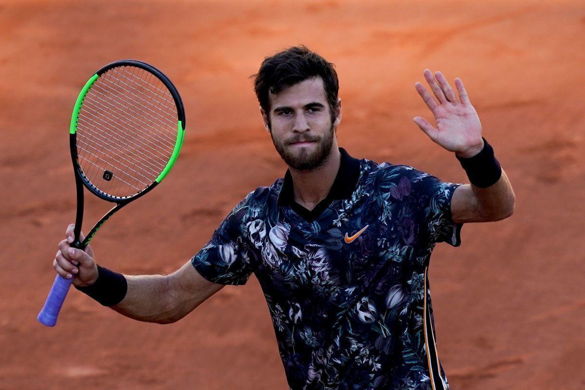 Хачанов прорвался во вторую неделю Roland Garros. Серена вылетела