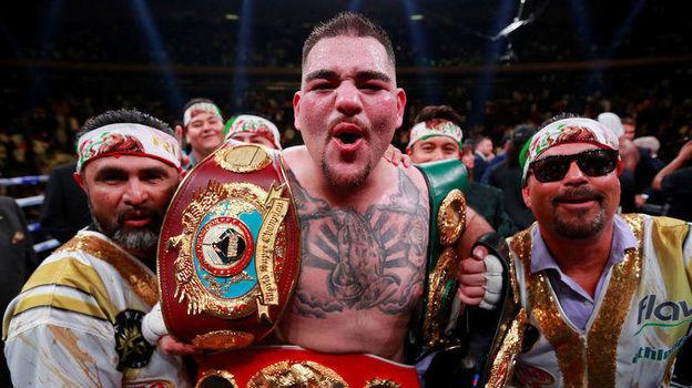 Бокс. Кто такой Энди Руис, ставший чемпионом мира по трем версиям