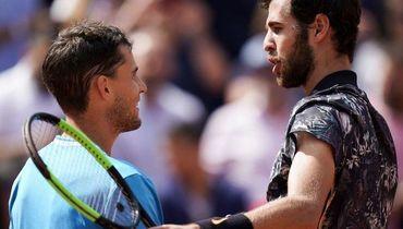 Австрийская машина. Тим остановил Хачанова на пути в полуфинал Roland Garros