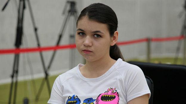 Александра Горячкина. Фото Владимир Барский, «СЭ»