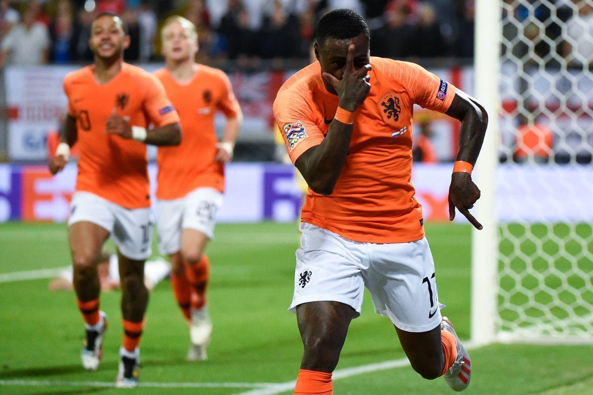 Промес – палач Англии. Голландия – в финале Лиги наций