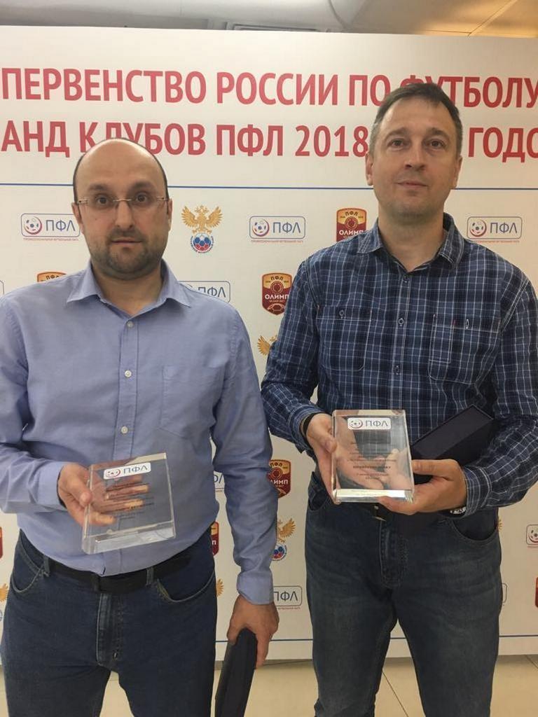 """Обозреватели """"СЭ"""" Юрий Голышак (справа) и Александр Кружков. Фото """"СЭ"""""""
