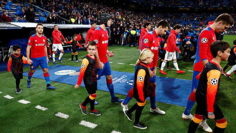 """12 декабря. Мадрид. """"Реал"""" - ЦСКА - 0:3. Фото Reuters"""