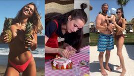 Ефимова попрощалась с Америкой, Загитова украсила торт, Овечкины отдыхают в Турции