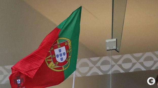 9 июня. Порту. Португалия - Голландия - 1:0. Криштиану Роналду-младший. Фото REUTERS