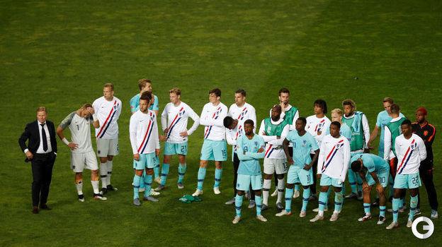 9 июня. Порту. Португалия - Голландия - 1:0. Сборная Голландии. Фото REUTERS