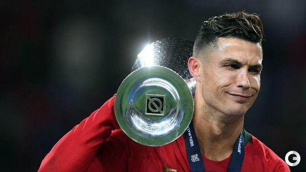 9 июня. Порту. Португалия - Голландия - 1:0. Кубок Лиги наций у Криштиану Роналду. Фото AFP
