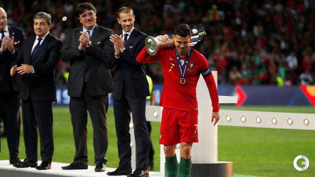 9 июня. Порту. Португалия - Голландия - 1:0. Кубок Лиги наций у Криштиану Роналду. Фото Reuters