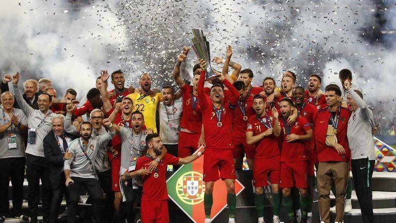 Сборная Португалии. Фото REUTERS., REUTERS