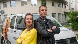 Дарья Исаева и Юрий Голышак.