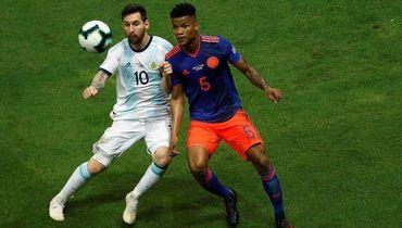 Барриос сдержал Месси, Колумбия обыграла Аргентину