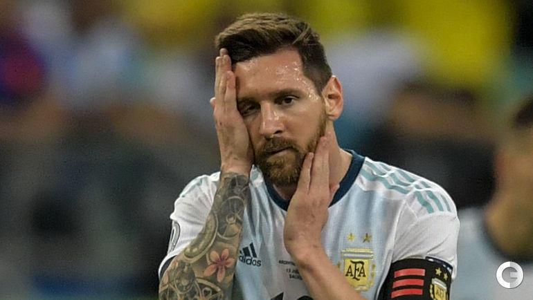 16 июня. Салвадор. Аргентина - Колумбия - 0:2. Лионель Месси.