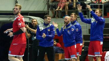 Мужская сборная зажгла в Санкт-Петербурге