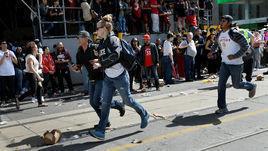 Стрельба во время чемпионского парада