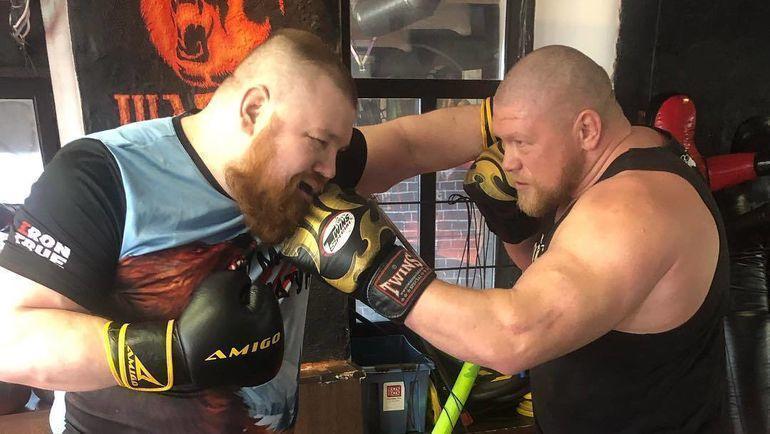 Вячеслав Дацик (слева) и Максим Новоселов. Фото instagram.com