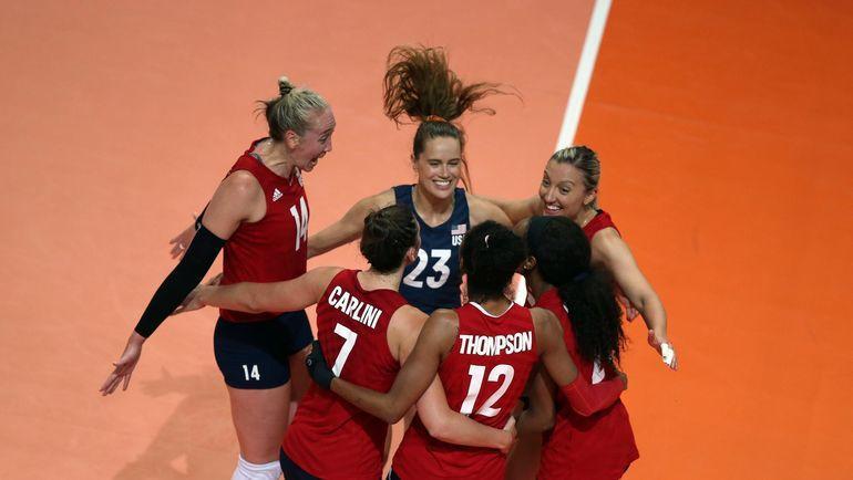 Волейбол, женская Лига наций-2019, Россия – США – 0:3, обзор матча