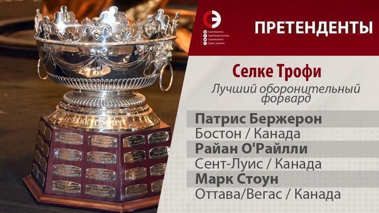 Индивидуальные призы по итогам сезона НХЛ.