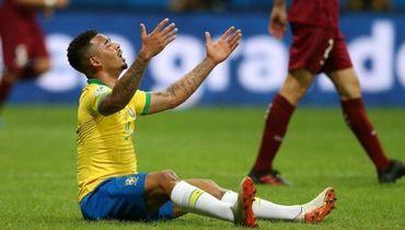 ВАР отменил два гола Бразилии, Венесуэла удержала ничью