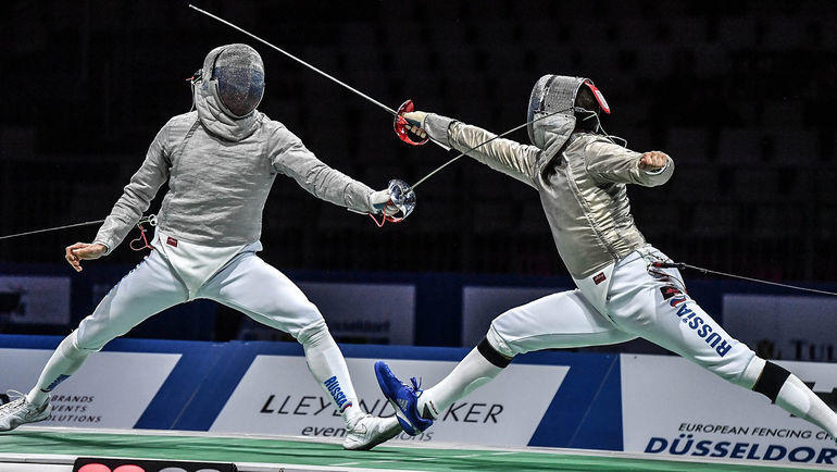 Вениамин Решетников и Камиль Ибрагимов. Фото EFC