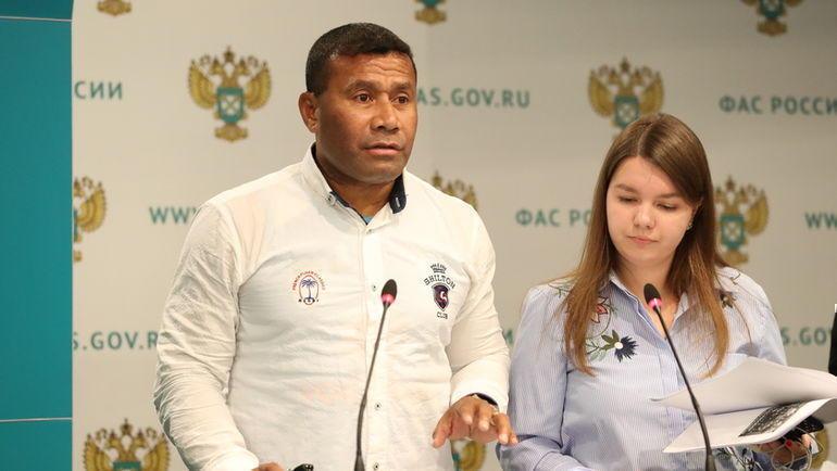 Главный тренер сборной России по регби-7 Вайсале Сереви.