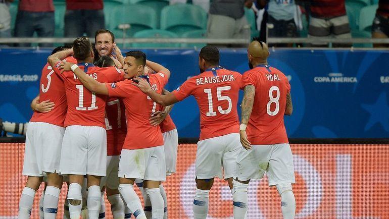 Сборная Чили. Фото Copa America.