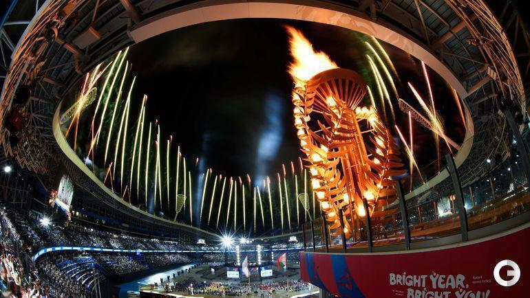 21 июня. Минск. Церемония открытия Европейских игр.