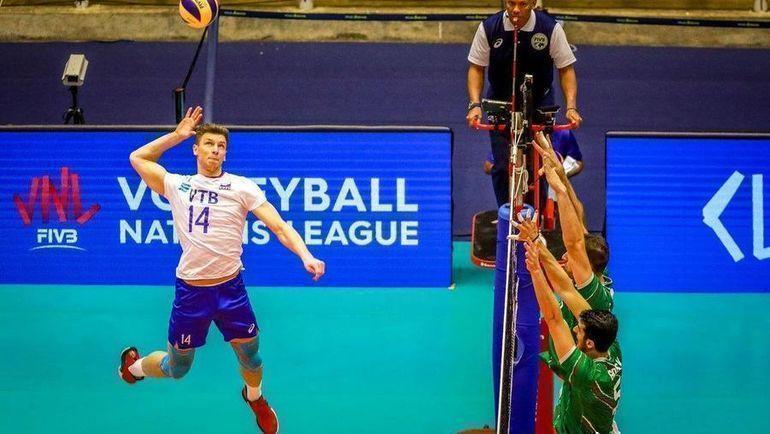 Болгария - Россия. Фото Volleyball World.