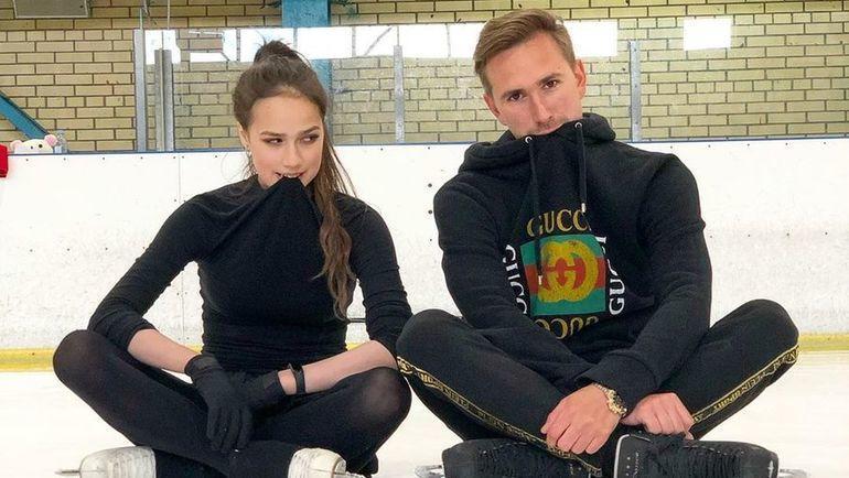 Алина Загитова и хореограф Даниил Глейхенгауз. Фото Инстаграм