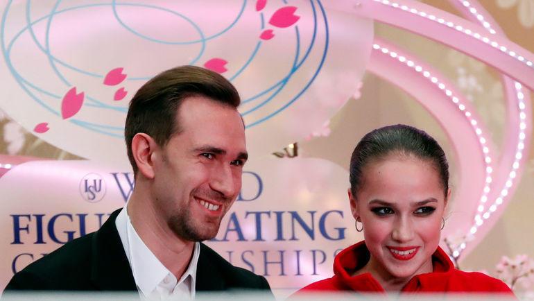 Даниил Глейхенгауз и Алина Загитова. Фото Reuters