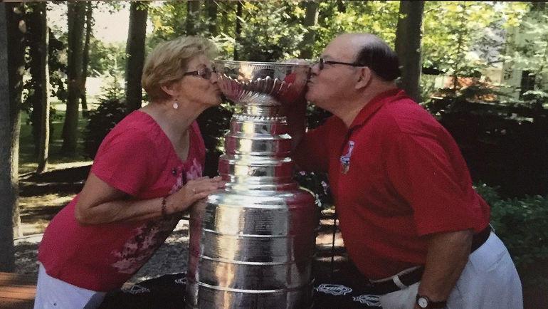 Скотти Боумэн и его жена Суэлла.