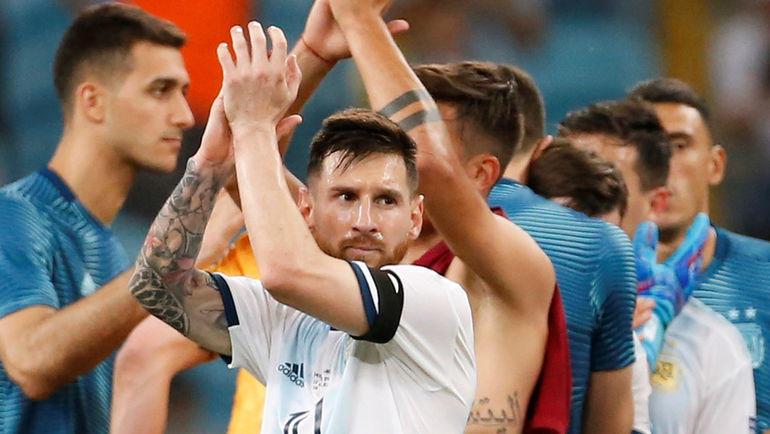 23 июня. Порту-Алегри. Катар - Аргентина - 0:2. Лионель Месси. Фото REUTERS