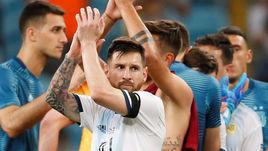23 июня. Порту-Алегри. Катар - Аргентина - 0:2. Лионель Месси.