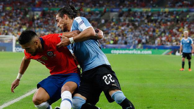 Чили – Уругвай – 0:1. Кубок Америки, групповой турнир. 24 июня 2019, обзор матча, видео голов