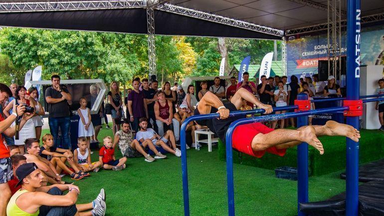 """В рамках фестиваля """"Столица Силы"""" пройдут соревнования по уличной атлетике при поддержке Datsun и Федерации воркаута России."""