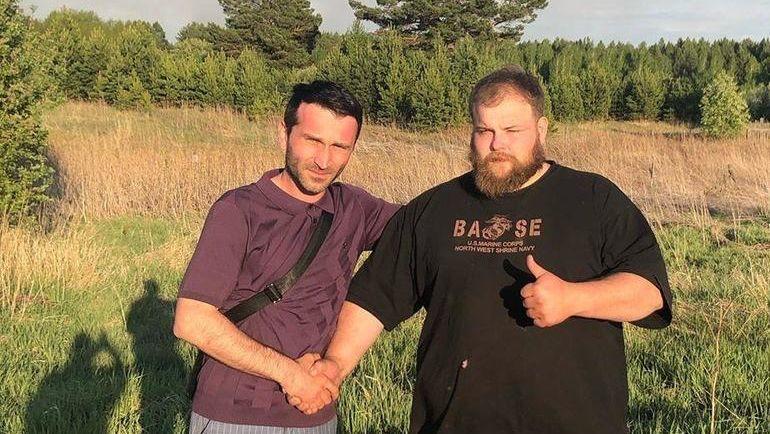 Василий Камоцкий (справа). Фото instagram.com