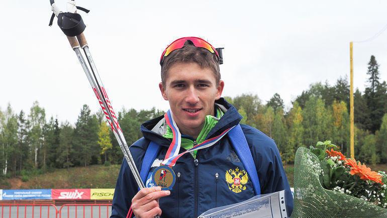 Карим Халили. Фото СБР, biathlonrus.com